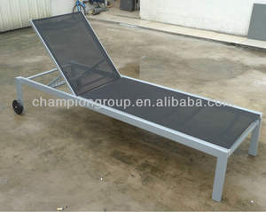 sling sun chaise lounger pool bed beach chair