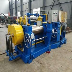 lab two roll rubber used open mixing mill