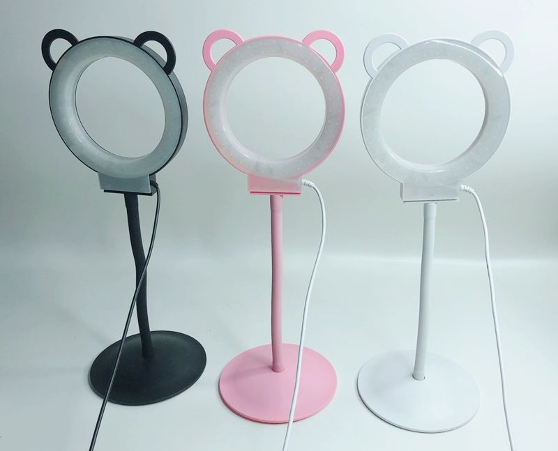 2018 new product Professional panda beauty lamp ring light