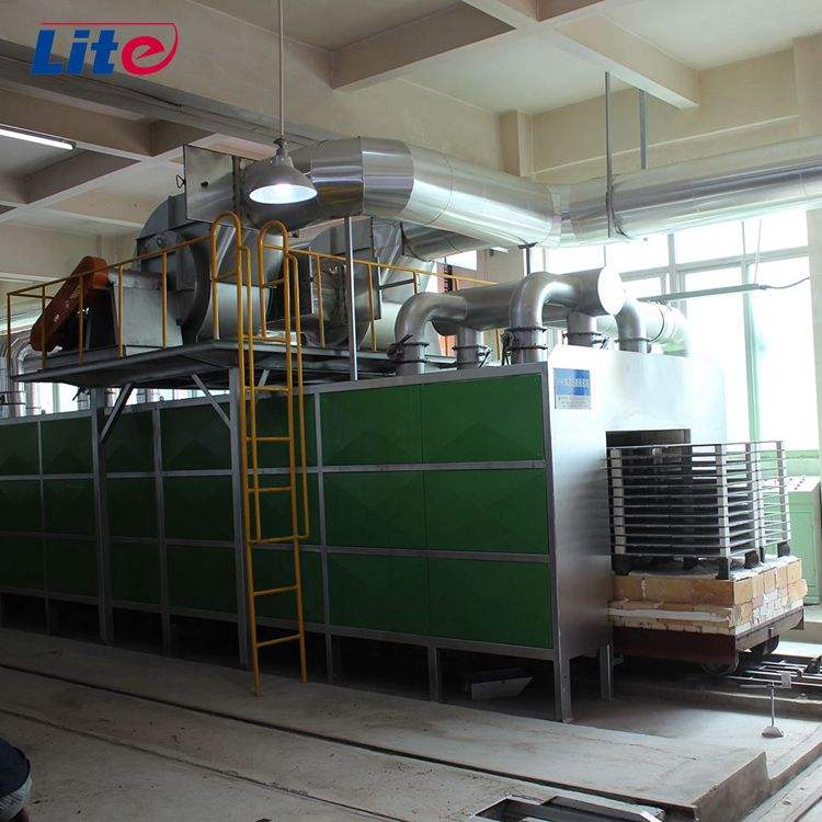 lower price clay brick factory with small tunnel dryer kiln