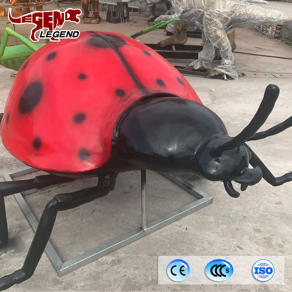 Zoo decoration 3D lifelike artificial simulation insects for sale