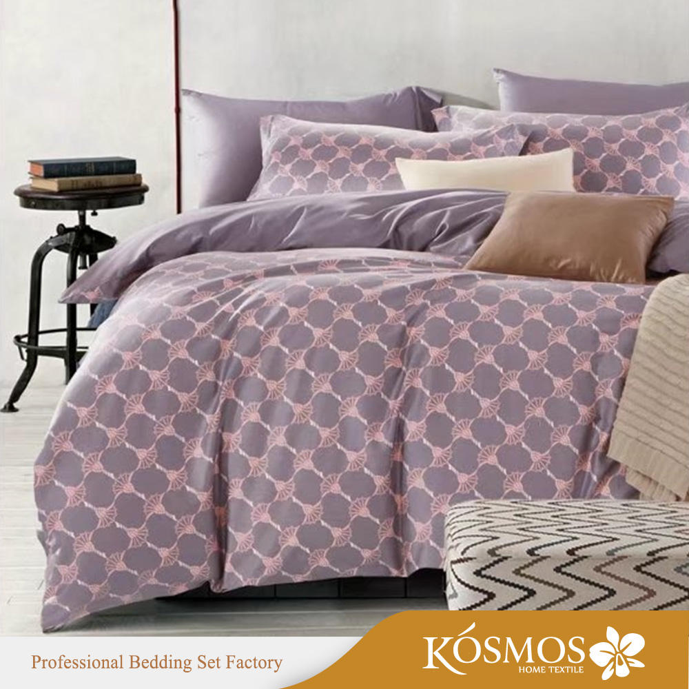 luxury high quality 100% cotton printed wholesale comforters