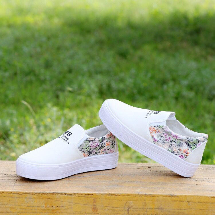 Sneakers canvas pvc outsole women casual shoes for girls