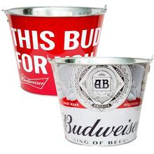 Budweiser  Iron Tin Ice bucket For Beer