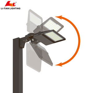ETL DLC 5 years warranty100w shoebox led outdoor Area and Site light for street, road, parking lot