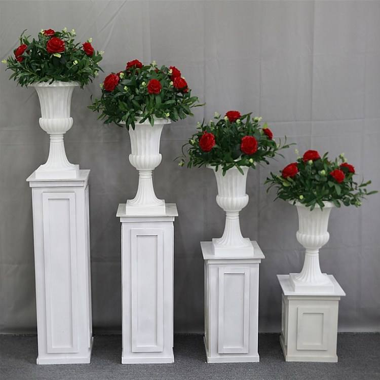 Romantic Wedding White Roman Column Road for Wedding,Party and Event Decoration