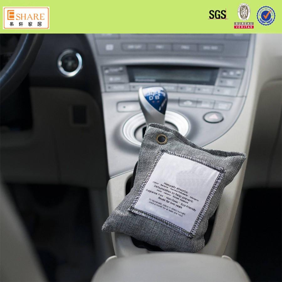 Auto e casa Deodorante Uso e Forma oblunga di Purificazione Dell'aria Sacchetto di carbone di bambù