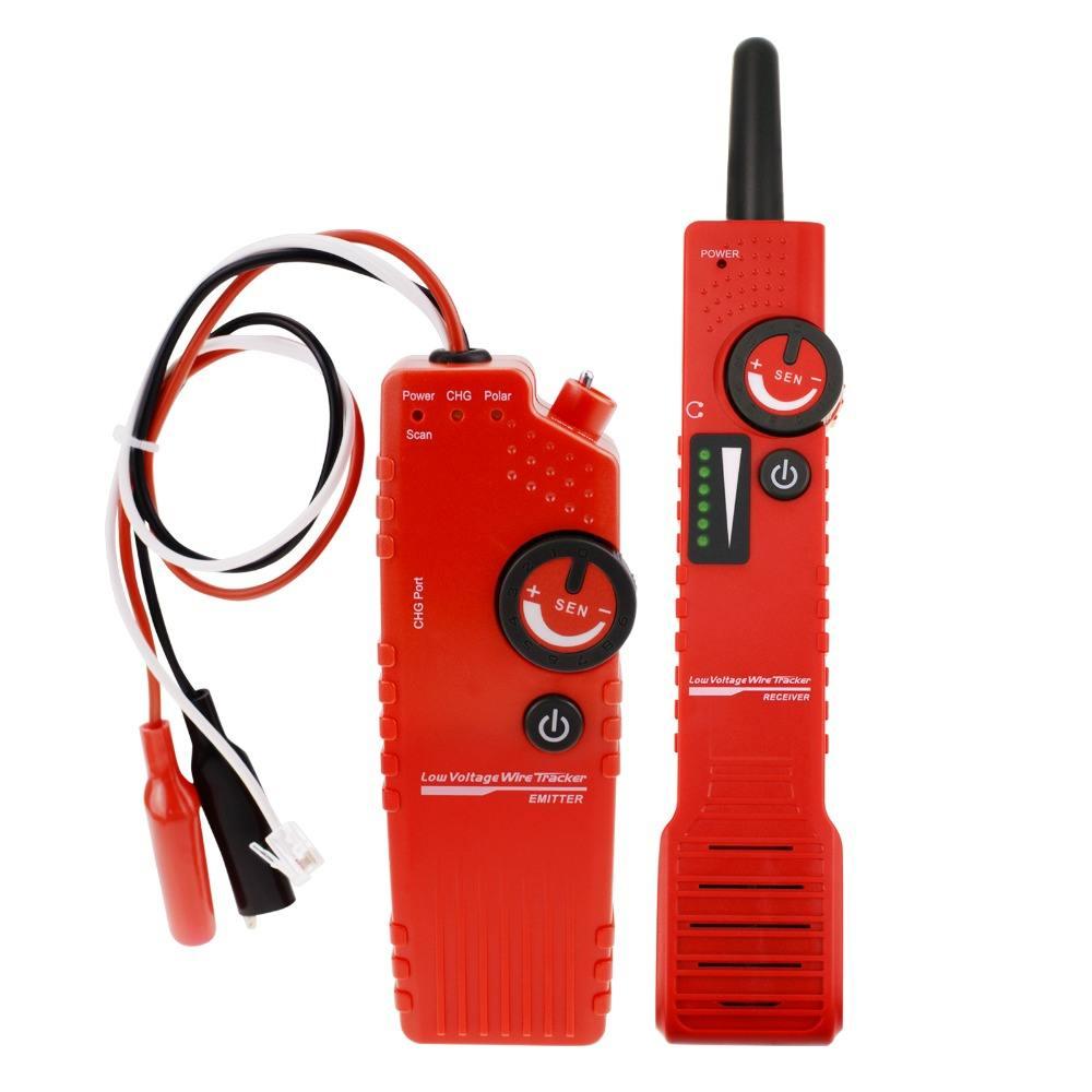 NF-819_US <span class=keywords><strong>Polarità</strong></span> Tester Sotterraneo 110 V Cable Tester Wire Locator Filo Vivo o diseccitato Filo con Batteria Ricaricabile