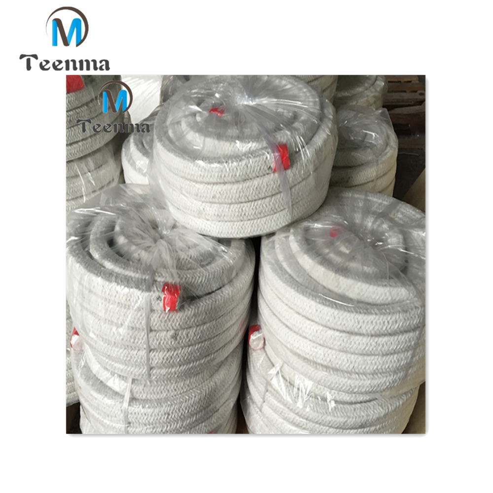 High Temperature Resistant Braided Ceramic Fiber Square Rope