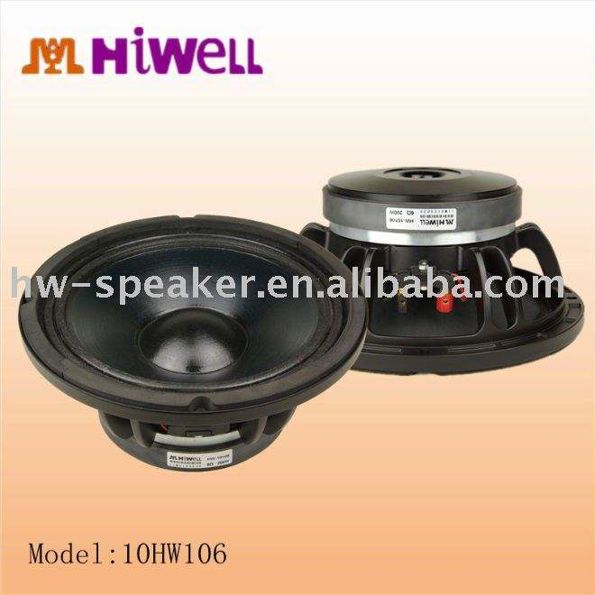 "10"" loudspeakers for pa audio system/cabinet"