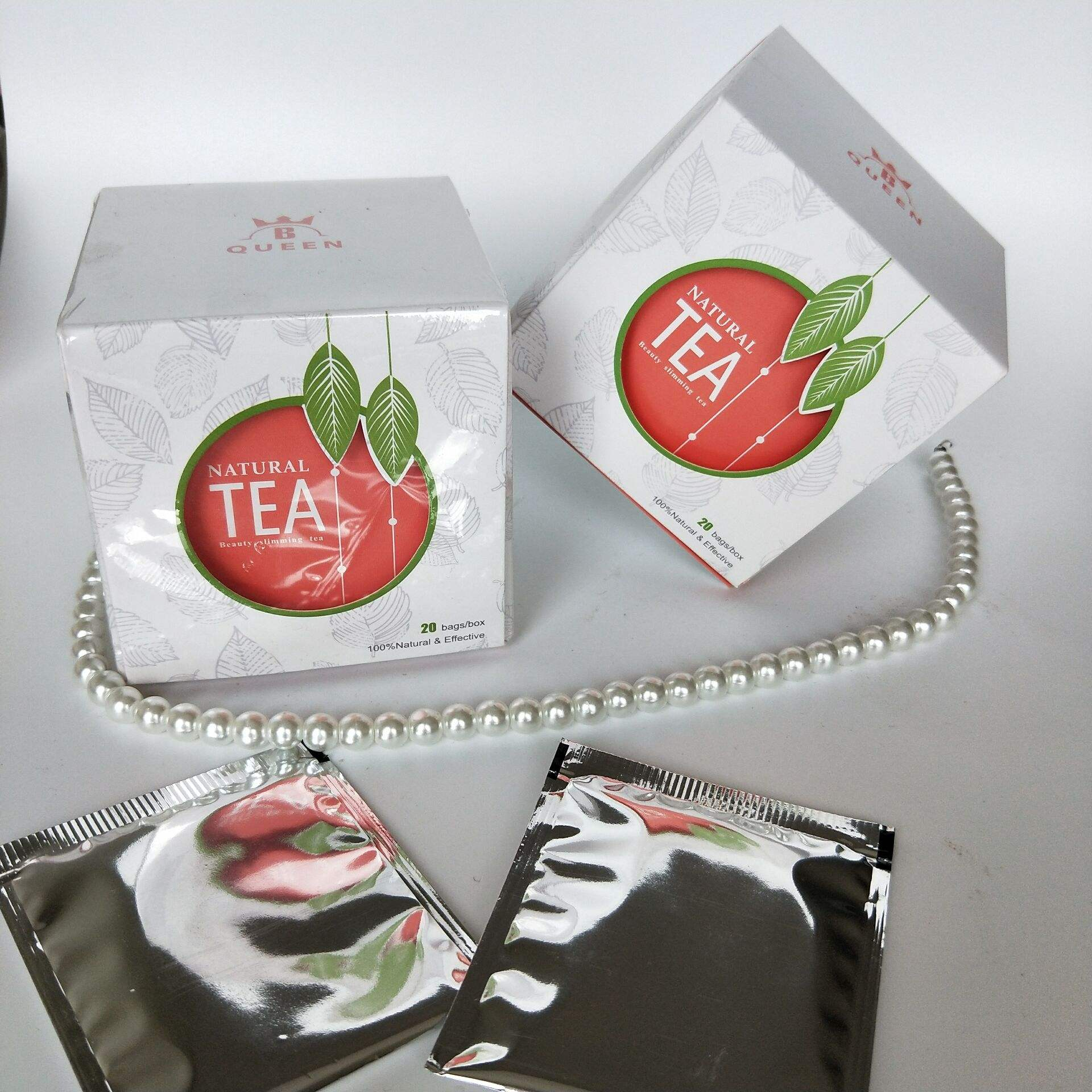 GET YOUR BEACH BODY READY private label latest ingredient private label tea box packaging natural slim tea no side effect