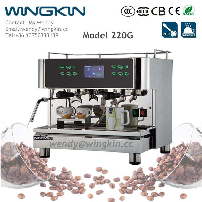 Beautiful new Malaysia ULKA pump 44-45mm size POD electric 220-240V coffee machine espresso with CE certificate