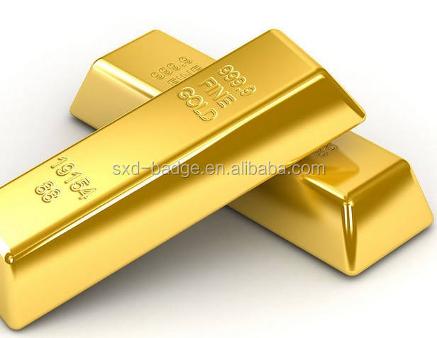 1oz tungsten filled gold bars 24k pure with thick gold plated