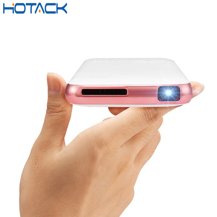 Drahtlose Mobile Smart USB Video Wifi Micro HD LED Heimkino Pico Android Mini Taschenprojektor