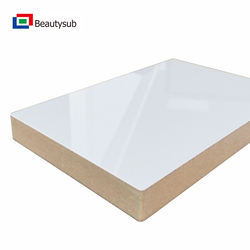 Sublimation gloss white MDF blank sheet