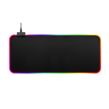 BUBM LED RGB Gaming Mouse Pad Light Keyboard Mat with Durable Stitched Edges