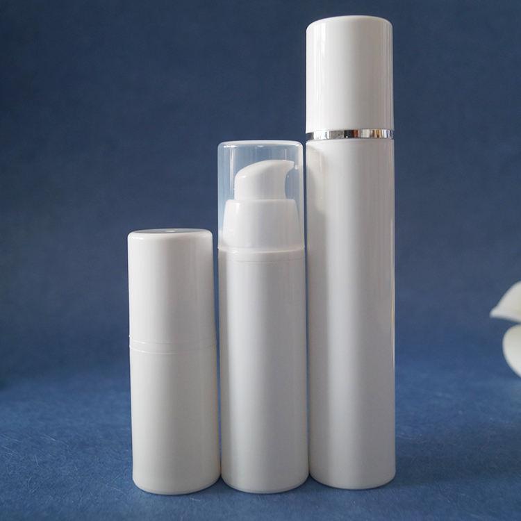 15 мл 30 мл 50 мл Лосьон упаковки белый пластик безвоздушного бутылка с насосом