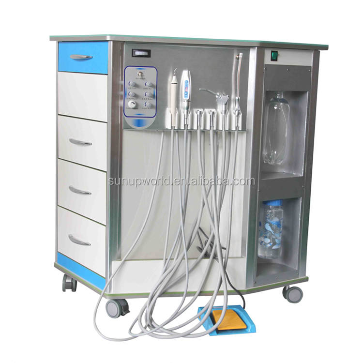 China Portable Dental Equipment Mobile Portable Dental Unit