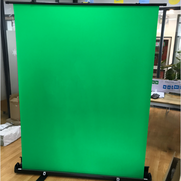 portable collapsible crease free chroma key background green screen