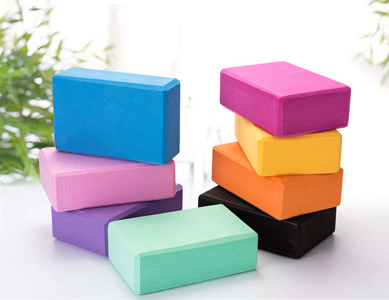 High Density EVA Foam Yoga Block to Support and Deepen Poses Lightweight Odorless and Moisture-Proof