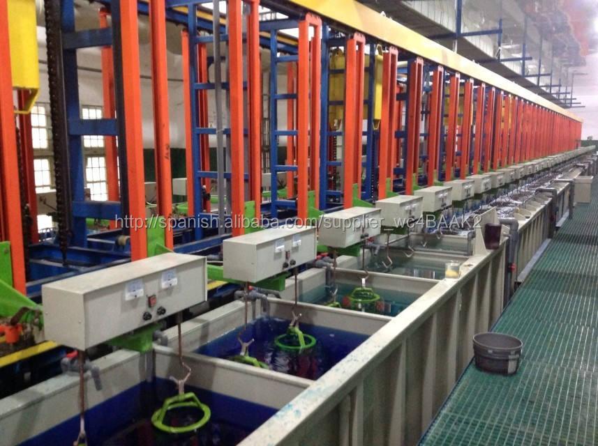 Zinc / cromo / de cobre de la máquina de recubrimiento, Barril chapado, Estanterías chapado China proveedor