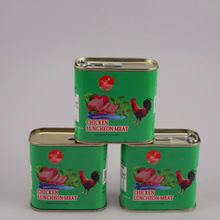china factory 198g 200g 340g canned Chicken/Beef Luncheon Meat,corned beef