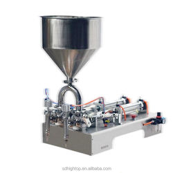 Semi-Automatic pneumatic liquid /paste cosmetic/food filling machine,essential oil filling machine