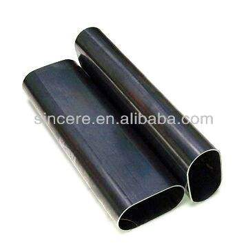 Oval steel pipe/elliptical hollow section/furniture tube