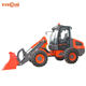 CE approved China new small wheel loader with snow blower