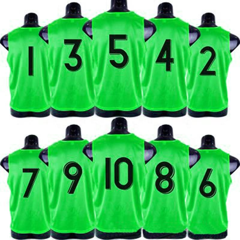 wholesale cheap 100% polyester sport bibs soccer training vest