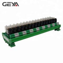 GEYA NGG2R 16 Channel Omron Relay Module with Fuse Protection Omron 24VDC Relay
