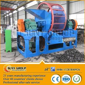 Factory Price Tough scrap Car Tyre Recycling Machine