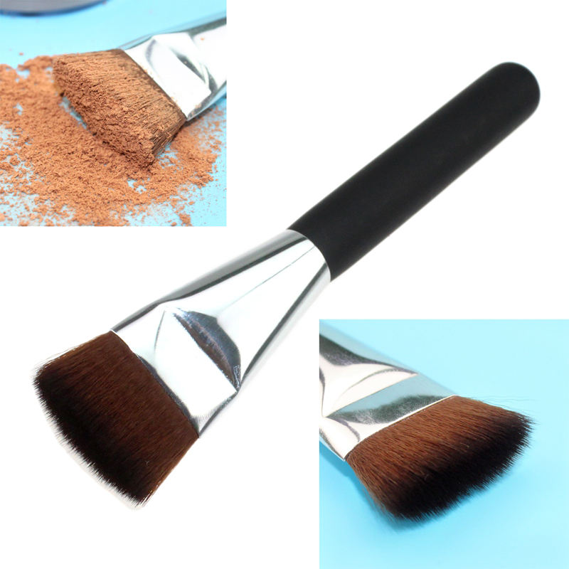 Professionale customSingle Eye brush private label piatto <span class=keywords><strong>concealer</strong></span> brush eye blending cosmetico spazzole di trucco