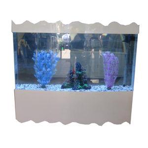 Heißer Verkauf Shenzhen modische große kunststoff acryl aquarium