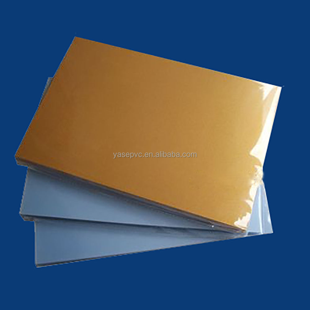 inkjet pvc in gold color for the vip member card custom pvc card