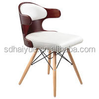 HY2022-1 Elegant 2017 Hot Sale Modern Pu/pvc Cheap Dining Chair/kichen Chair