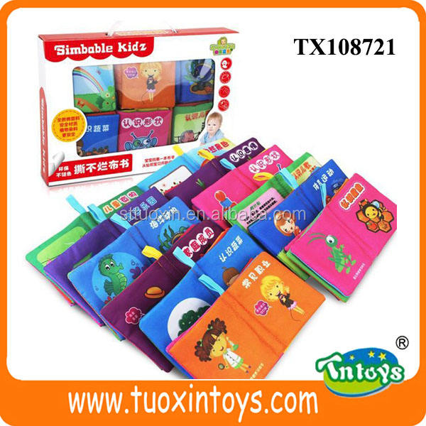 baby soft plastic book, fabric sample book manufacturer