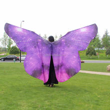 Halloween Christmas party performance butterfly costumes women cloak