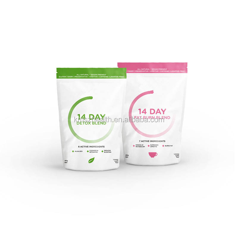Customized Brand 14 Day Weight Loss Detox Tea Coconut And Pineapple Infusion