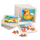 Wooden Puzzle Jigsaw for Children Baby Educational Toy puzzles for kid