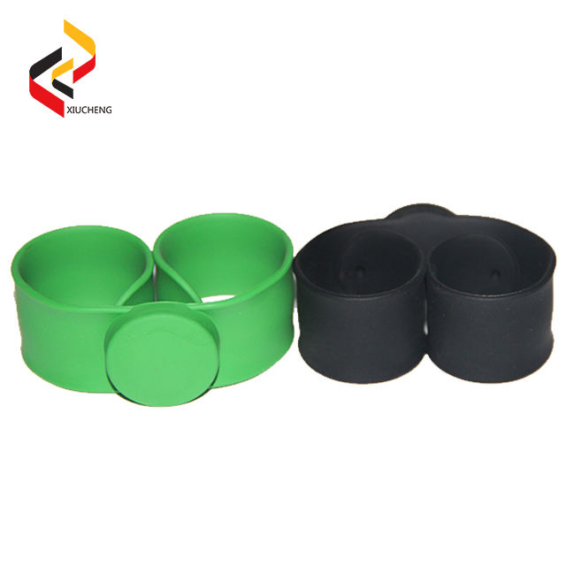 New innovation Top Quality RFID woven adjustable smart gps tracking silicon wristband glow in dark