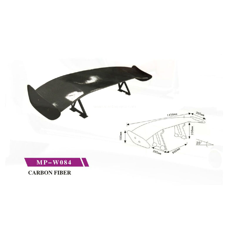 Durable Car Auto Spoiler With Different Colors
