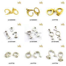 factory price jewelry findings necklace shortener closure snap clasp safety clasp wholesale