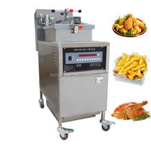 Fast Food Shop Automatic Deep Frying Machine / pressure fryer