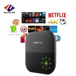 android tv box 2gb ram 16gb rom T95V Pro S912 Octa Core Processor KODI 16.1 Pre-Loaded octa core tv box codi T95V PRO BOX