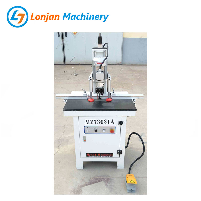 Woodworking Hinge Drilling Machine MZ73031A Single Head Vertical Hinge Boring Machine