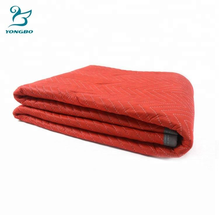 Blanket Factory 2018 Durable Moving Blankets Furniture Economy Non Woven Padded Furniture Blankets Traveling Nonwoven Transportation Blanket