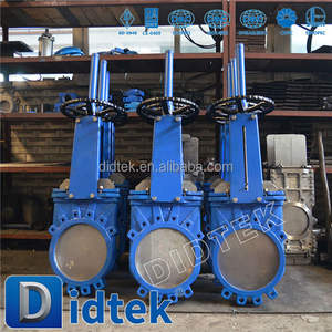 Didtek Pneumatic Knife Gate Valve Manufacturer