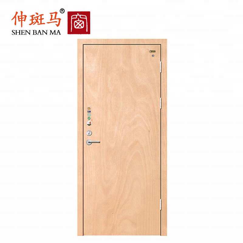 1 Hours Fire Rated Door Entry Doors Wood Panel Door Design Fireproof Door