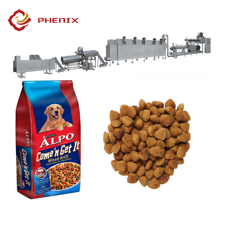 Dog/cat/pet food manufacturing machine